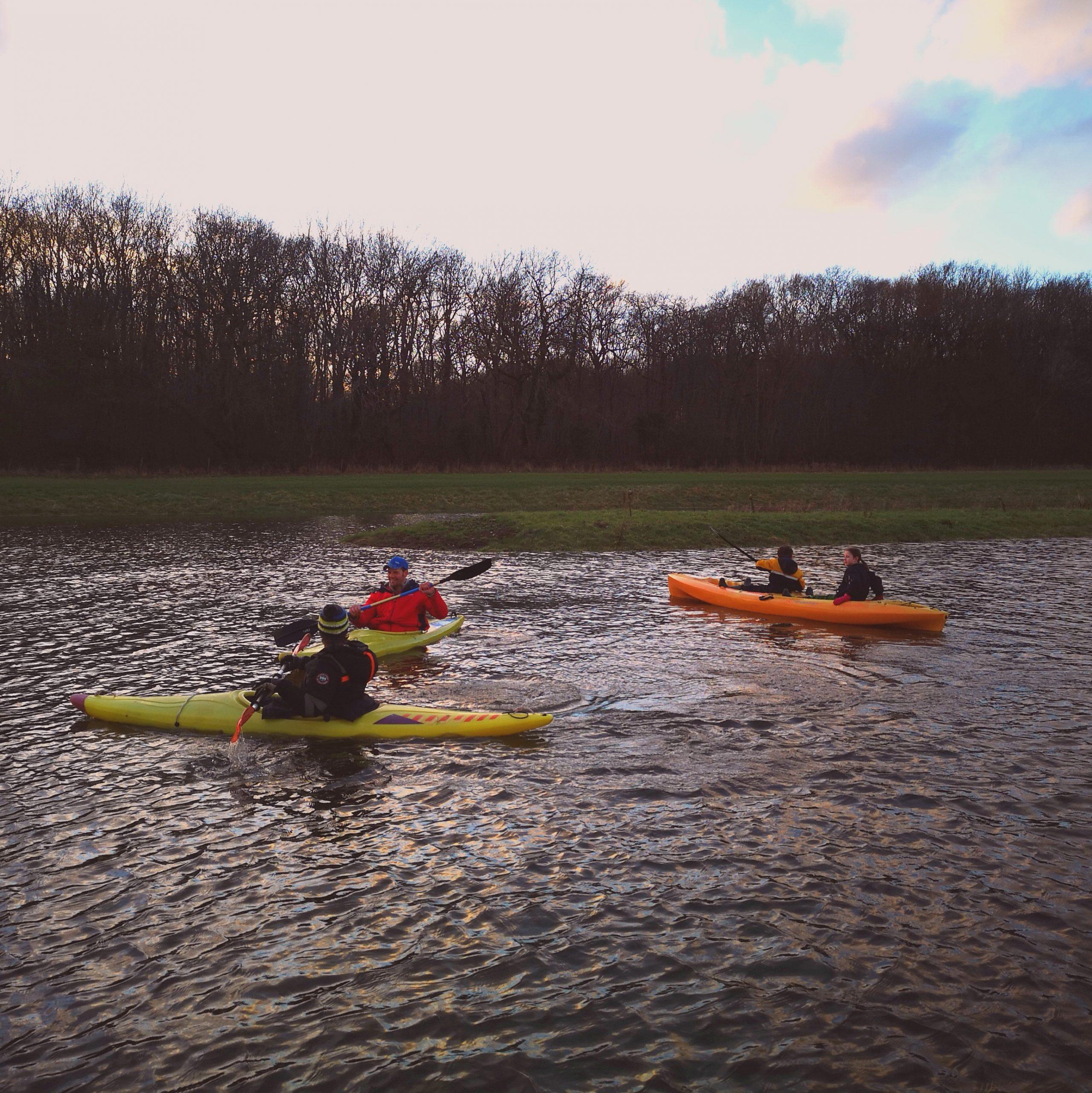 Kayaking and SUP at Crystal Lake Ocean Walker Academy